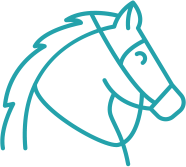 therapeutic riding icon